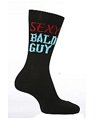 1 Pr Sockshop Dare To Wear Sexy Bald Guy