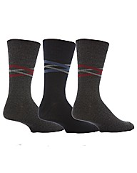 6 Pr Gentle Grip Socks - V Link