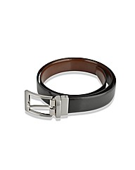 Woodland Leather Reversible Belt
