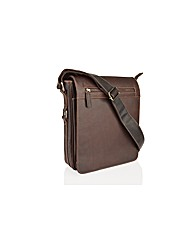 Woodland Leather Portrait Messenger