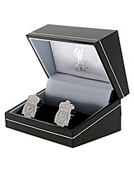 Liverpool S/Steel  Crest Cufflinks