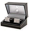 Spurs S/Steel  Crest Cufflinks