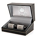 West Ham Utd S/Steel  Crest Cufflinks