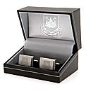 West Ham Utd S/Steel  Crest Cufflinks