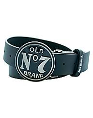 Jack Daniels Circular Buckle Belt