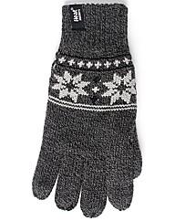 Heat Holders Fairisle Gloves
