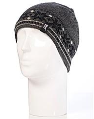 Heat Holders Fairisle Hat