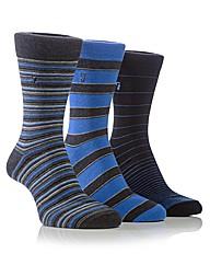 Farah Stripe Jaquard Socks
