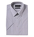 Double TWO Check Formal Shirt