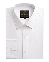 Scott & Taylor White Poplin Shirt