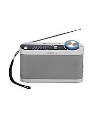 Roberts Portable Radio - Silver