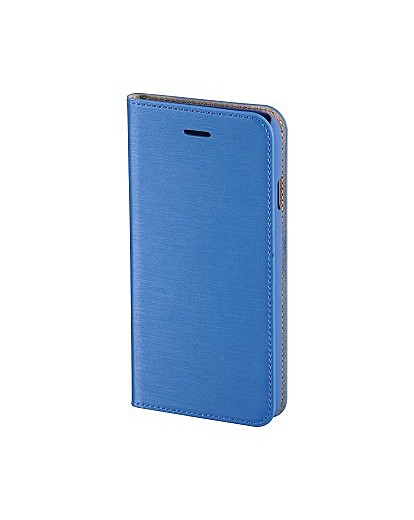 Hama Slim Book Case for iPhone 6, Blue