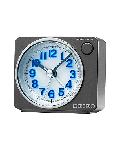 Image of Seiko LED Sweep Second Hand Alarm Clock
