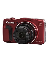 Canon PowerShot SX710 HS Camera Red