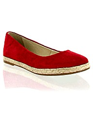 Marta Jonsson red suede pump