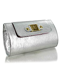 Marta Jonsson silver leather bag