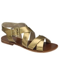 Ravel Juliet flat strappy leather sandal