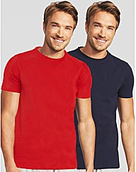 Essential 2 Pack Crew Neck T-shirt