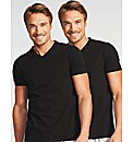 Essential 2 Pack V Neck T-shirt
