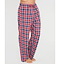 Brushed Flannel Check Pj Pant