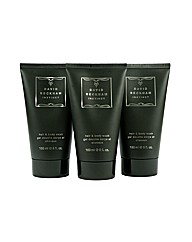 Beckham Trio Shower Gel