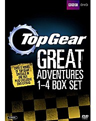 Top Gear - The Great Adventures 1-4