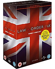 Law & Order - Seasons 1-4