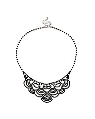 Jon Richard Diamante Statement Necklace