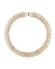 Jon Richard Crystal Collar Necklace