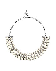 Mood Pearl Collar Necklace