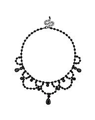 Mood Diamante Chandelier Necklace