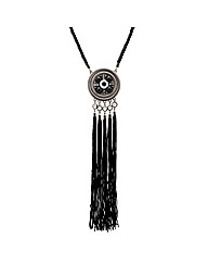 Mood Statement Long Tassel Necklace