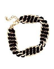 Mood Woven Wrapped Chain Bracelet