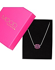 Mood Pave Crystal Necklace