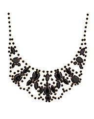 Mood Statement Diamante Necklace