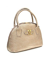 Limited edition leather handbag