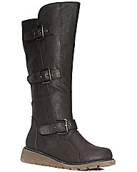 Strawbery Low Wedge Calf boot