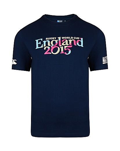 Rugby World Cup 2015 Script Tee