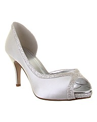 Rainbow Club Carrie Ivory Wedding Shoe