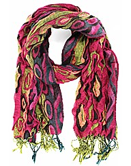 Teardrop Effect Scarf