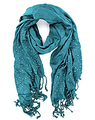 Diamante Tassled Scarf