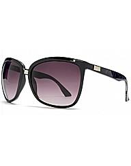 Cerdo Oversize Metal Bridge Sunglasses