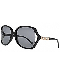 Stud Temple Square Sunglasses