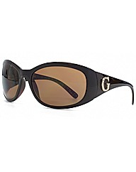 Diamante G Wrap Sunglasses