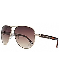 Diamante Star Aviator Sunglasses