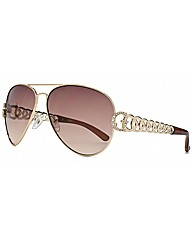 G Chain Aviator Sunglasses