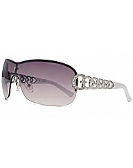 G Chain Visor Sunglasses