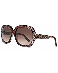 Valentino Lace Effect Sunglasses