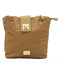 Juno embossed shopper