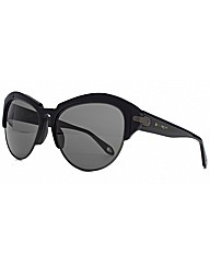 Givenchy Half Rim Cateye Sunglasses